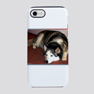 Husky! Dog photo! iPhone 7 Tough Case