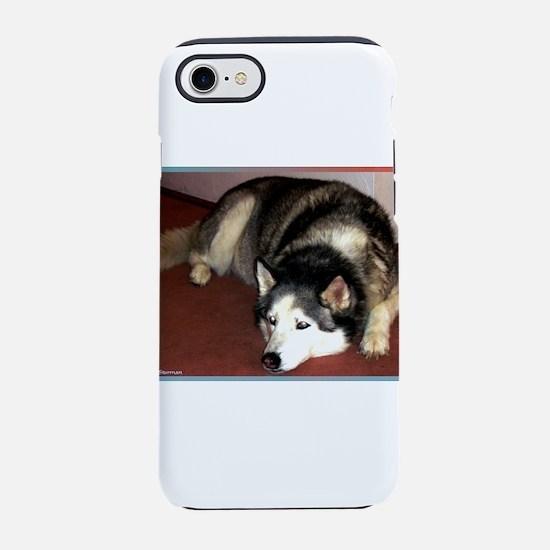 Husky! Dog photo! iPhone 7 Tough Case