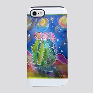 cactus at night! soutwest art! iPhone 7 Tough Case