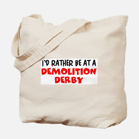 demolition derby Tote Bag