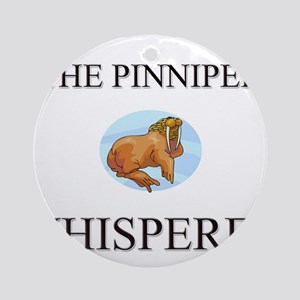 The Pinniped Whisperer Ornament (Round)