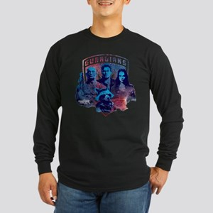 GOTG Sky Long Sleeve Dark T-Shirt
