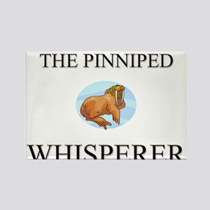 The Pinniped Whisperer Rectangle Magnet