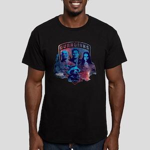 GOTG Sky Men's Fitted T-Shirt (dark)