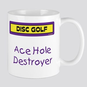 Ace Hole Destroyer Mug (Purple and Yellow)