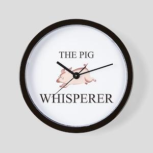The Pig Whisperer Wall Clock