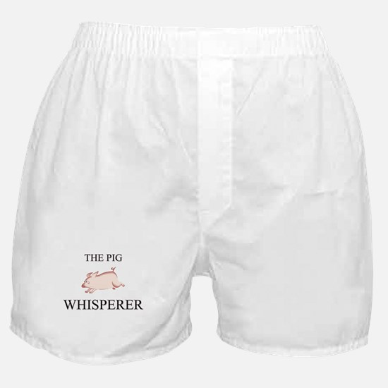 The Pig Whisperer Boxer Shorts