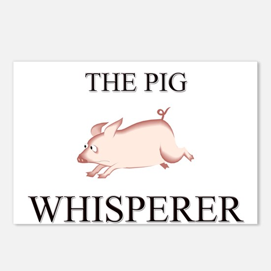 The Pig Whisperer Postcards (Package of 8)