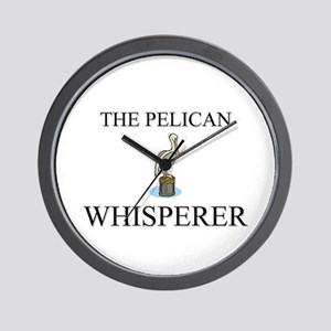The Pelican Whisperer Wall Clock