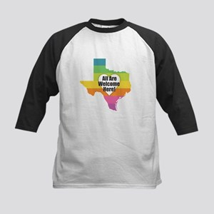 Texas - All Are Welcome Here Baseball Jersey