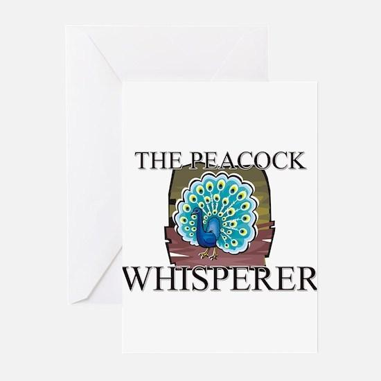 The Peacock Whisperer Greeting Cards (Pk of 10)