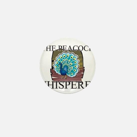 The Peacock Whisperer Mini Button