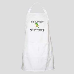 The Parakeet Whisperer BBQ Apron