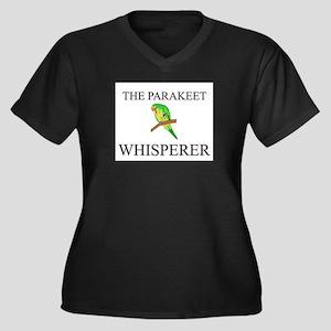 The Parakeet Whisperer Women's Plus Size V-Neck Da