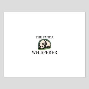 The Panda Whisperer Small Poster