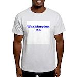 Washington 24 Ash Grey T-Shirt