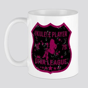 Ukulele Player Diva League Mug