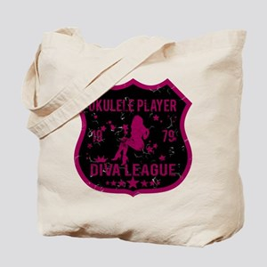 Ukulele Player Diva League Tote Bag