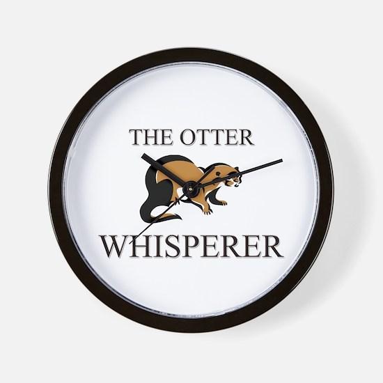 The Otter Whisperer Wall Clock