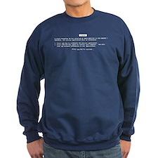 BSOD Sweatshirt (dark)