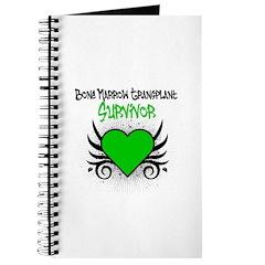 BMT Survivor Grunge Heart Journal
