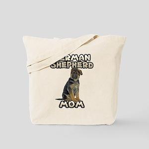 German Shepherd Mom Tote Bag