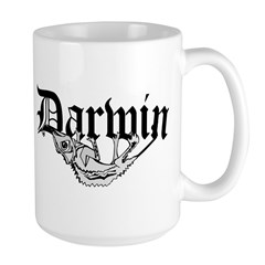 Darwin Large Mug