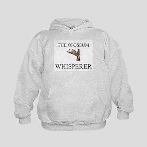 The Opossum Whisperer Kids Hoodie