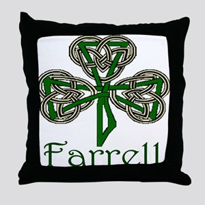 Farrell Shamrock Throw Pillow