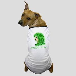 Naturally Curly Irish Hair Dog T-Shirt