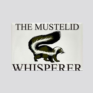 The Mustelid Whisperer Rectangle Magnet