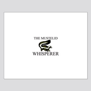 The Mustelid Whisperer Small Poster