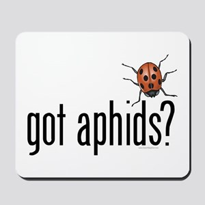 Ladybug - Organic Gardening Mousepad