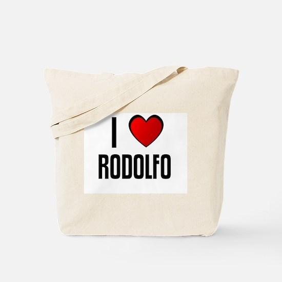 I LOVE RODOLFO Tote Bag