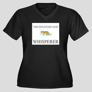 The Mountain Lion Whisperer Women's Plus Size V-Ne