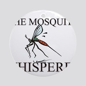 The Mosquito Whisperer Ornament (Round)