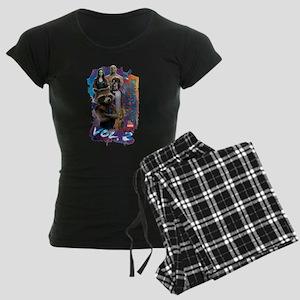 GOTG Paint Women's Dark Pajamas
