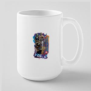 GOTG Paint Large Mug