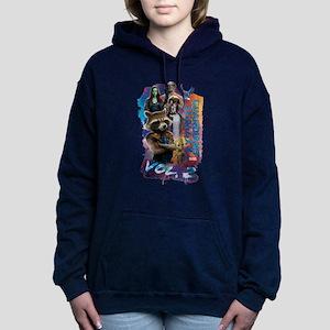 GOTG Paint Women's Hooded Sweatshirt