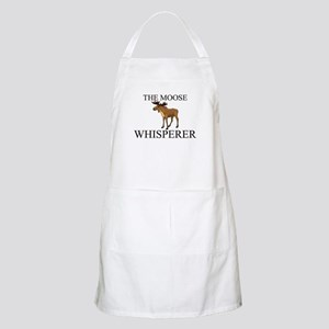 The Moose Whisperer BBQ Apron