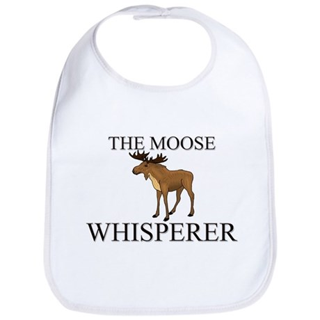 The Moose Whisperer Bib