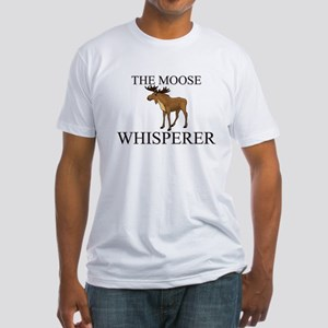 The Moose Whisperer Fitted T-Shirt