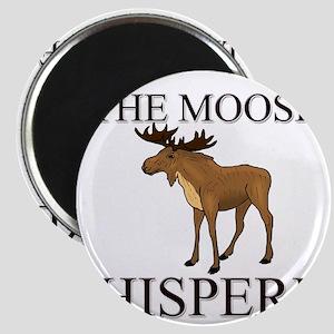 The Moose Whisperer Magnet