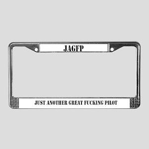 JAGFP License Plate Frame
