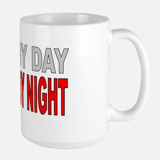 WIFE BY DAY Large Mug