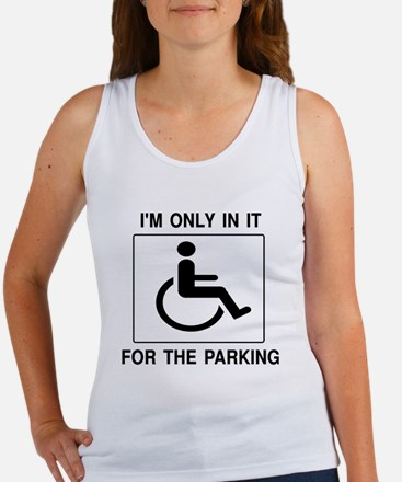 In It For The Parking Women's Tank Top