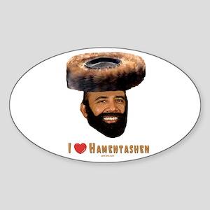 Pres. Obama Purim Oval Sticker
