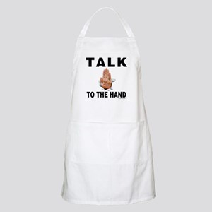 Talk to the Hand BBQ Apron