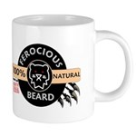 FerociousBeard100Natural Mugs