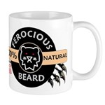 FerociousBeard100Natural Mugs